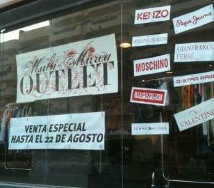 Venta Outlet Multi-Marca en Sitges