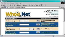 Consulta quien es el propietario del dominio de la tienda online