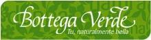 Logo Bottega Verde en el Listado de tiendas online de cosméticos y perfumería con outlet