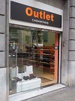 Outlet Zapaterías Casanovas en Barcelona