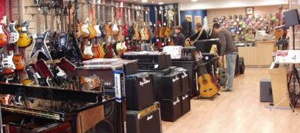 Vista Outlet Musical - Tienda de instrumentos outlet en Barcelona