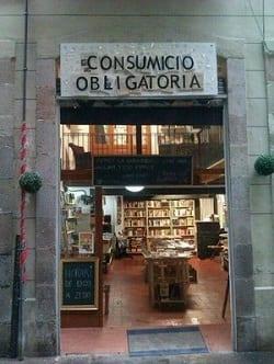 Consumició Obligatòria - Librería de segunda mano en Barcelona