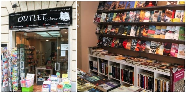 Outlet Llibres Sant Antoni Maria Claret Barcelona - Abril 2017