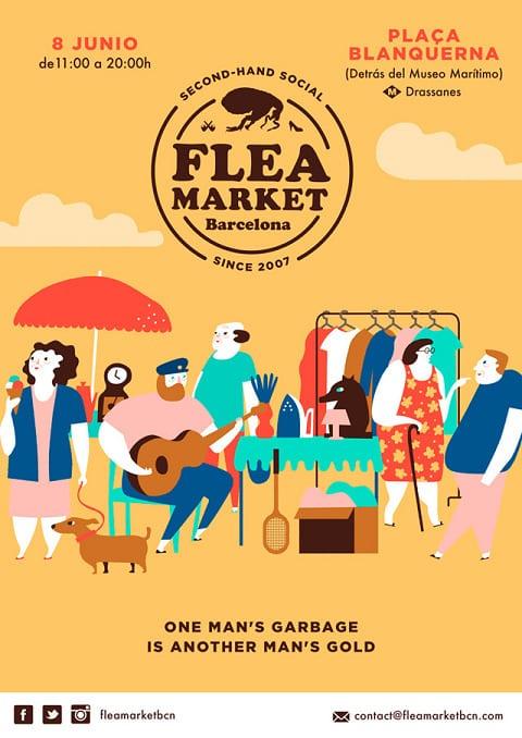 Flea Market Junio Barcelona
