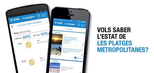 App playas Infoplatges - Ocio low cost o gratis Agosto en Barcelona