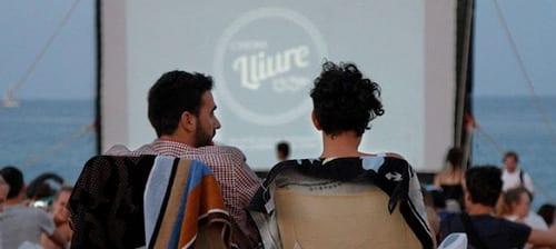 Cinema Lliure a la Platja - Ocio low cost o gratis Agosto en Barcelona