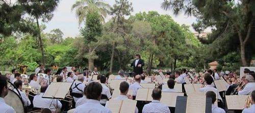 Musica als Parcs - Ocio low cost o gratis Agosto en Barcelona
