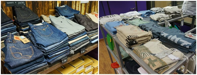 Camisetas y pantalones - Stock Outlet One Barcelona