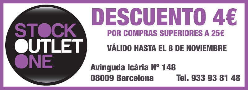 Descuento Stock Outlet One Barcelona