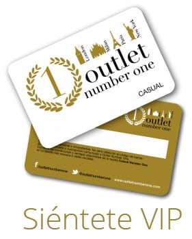 Outlet Number One - Tarjeta VIP Casual