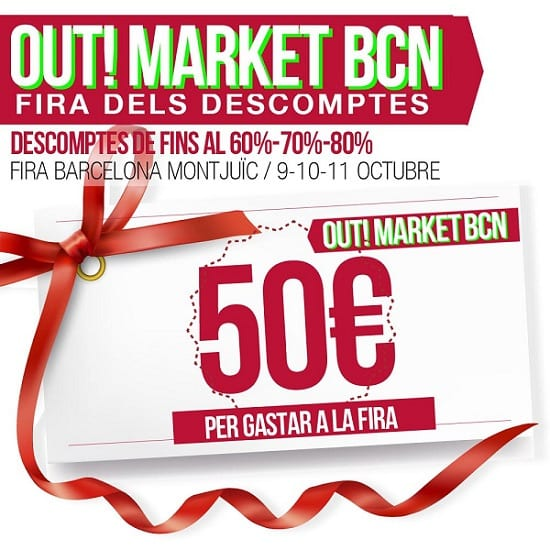 Sorteo 50€ - outletbarcelona.info