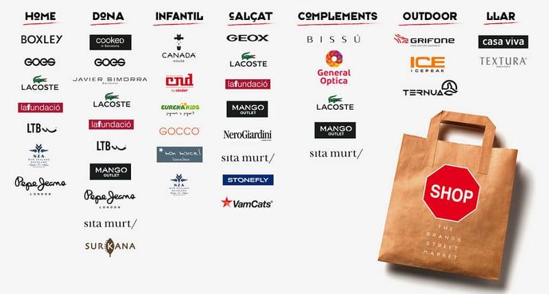 Marcas outlet - Shopp Out Girona