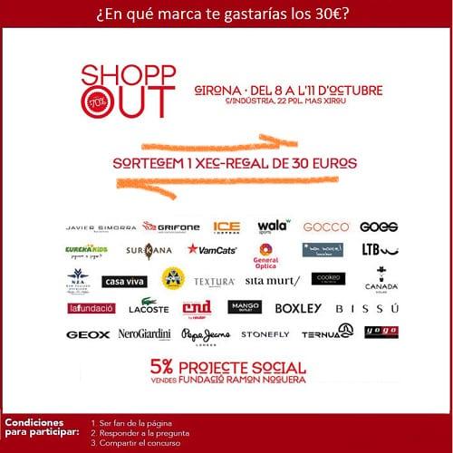 Sorteo - Shopp Out Girona