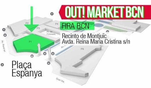 Out!Market BCN - Ubicación