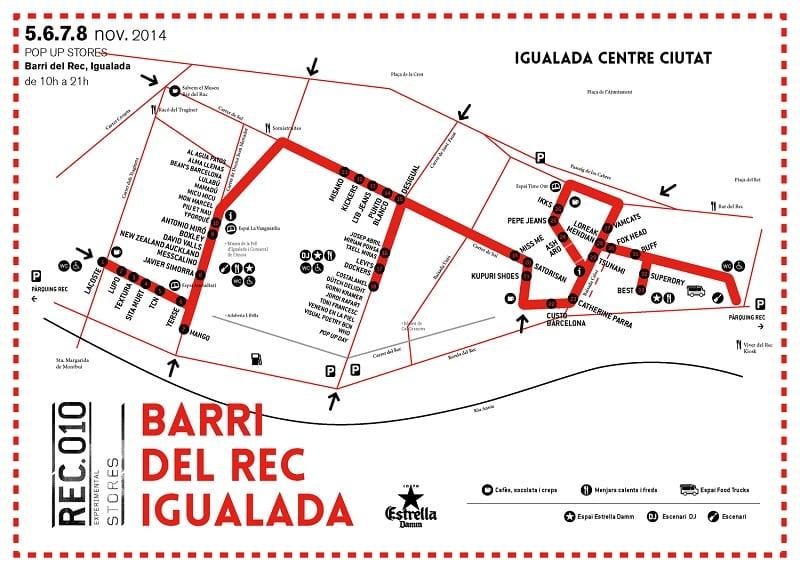 REC010 - Mapa marcas y tiendas