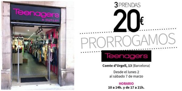 Teenagers - Noticias Outlet en Barcelona 230