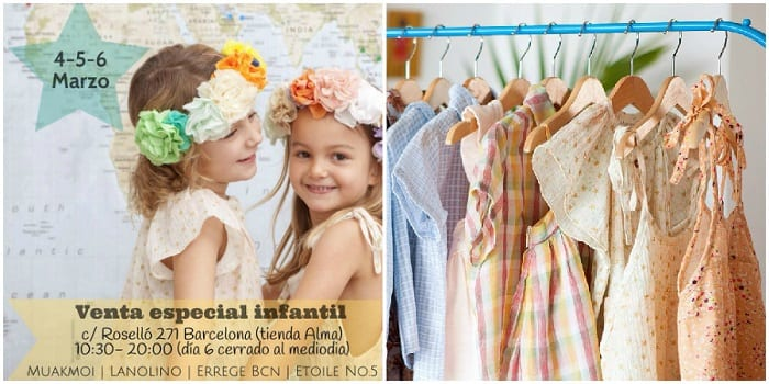 Venta especial infantil Etoile num 5 - Noticias Outlet en Barcelona 230