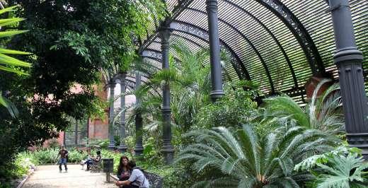 Umbracle Parc Ciutadella - Especial Ocio Barcelona Agosto 2015