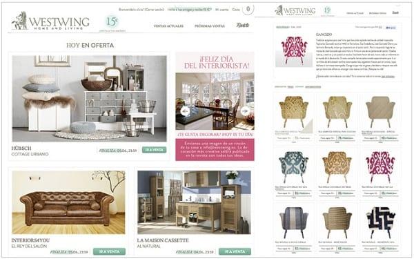 Westwing outlet muebles decoración - NOB 248