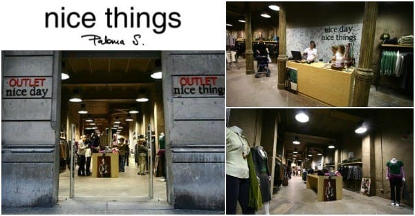 Nice Things Outlet Barcelona - NOB 249