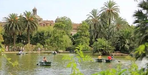 Parc Ciutadella - Especial Ocio Barcelona Agosto 2015
