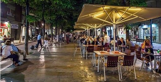 Terrazas Avinguda Gaudi - Especial Ocio Barcelona Agosto 2015