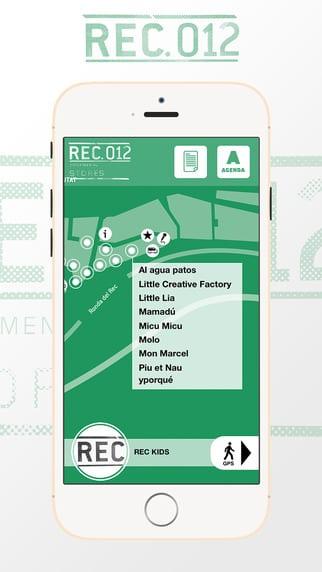 App android RECstores REC012 Igualada - Novembre 2015