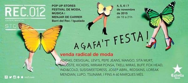 Cartel oficial RECstores REC012 Igualada - Noviembre 2015