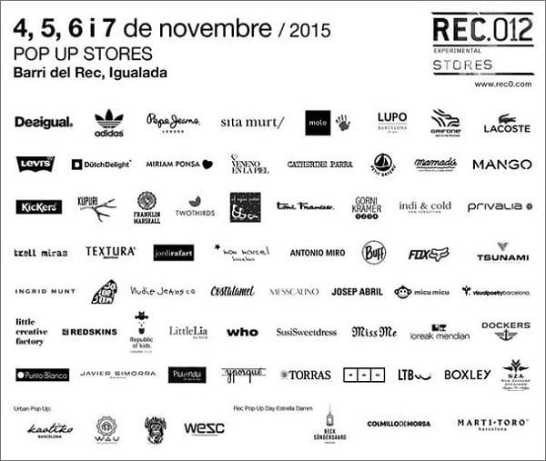 Marcas REC012 - REC Igualada - Noviembre 2015