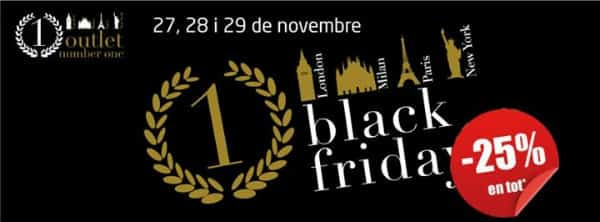 Outlet Number One - Black Friday 2015 Barcelona