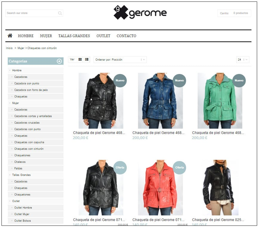tienda online gerome 2