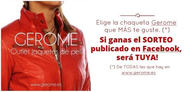 Sorteo Outlet piel Gerome Sabadell - Diciembre 2015