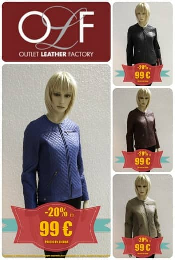 Outlet Leather Factory - Promo Diciembre 2015