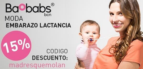 Baobabs descuento ropa premamá embarazo lactancia - NOB 266