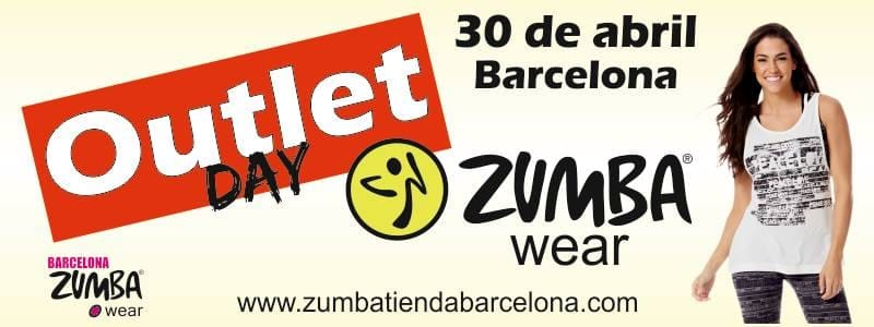 Outlet Zumba Wear Barcelona - Abril 2015