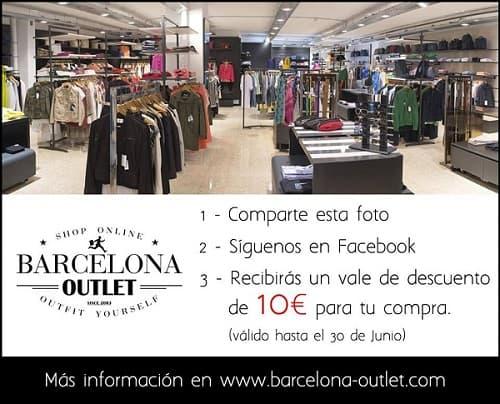 Barcelona Outlet - Junio 2016 - NOB 268