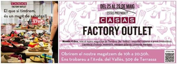 Casas Factory Outlet Terrassa - Mayo 2016 - NOB 267