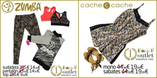 Outlet Number One - Zumba Wear Cache Cache Outlet - NOB 267 - Mayo 2016