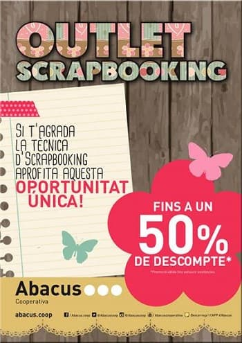 Outlet Scrapbooking Abacus - NOB 267 - Mayo 2016
