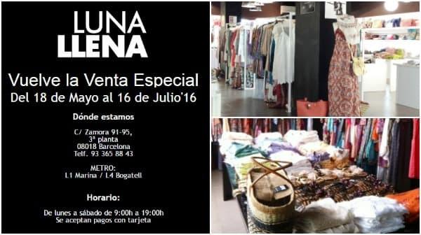 Venta especial outlet Luna Llena - NOB 267 - Mayo 2016