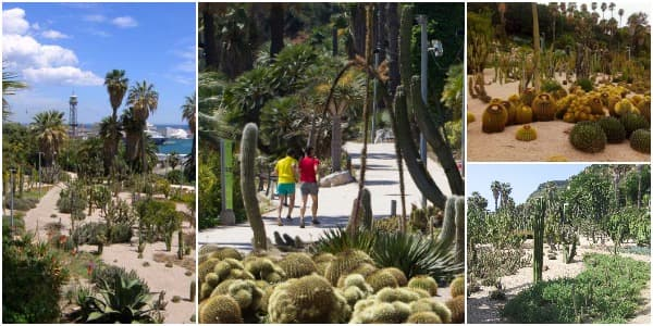 Jardins Mossèn Costa i Llobera - Especial Ocio en Barcelona - Verano 2016