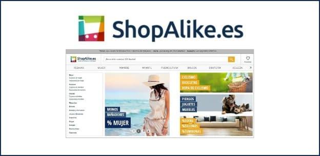 ShopAlike.es - Agosto 2016 - Buscador y comparador tiendas online
