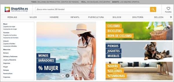 ShopAlike.es - buscador y comparador - Agosto 2016