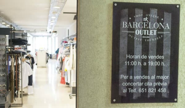 Barcelona Outlet - Septiembre 2016