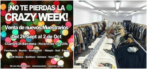 Muestrarios We Are Moloko Outlet - Noticias Outlet en Barcelona 272