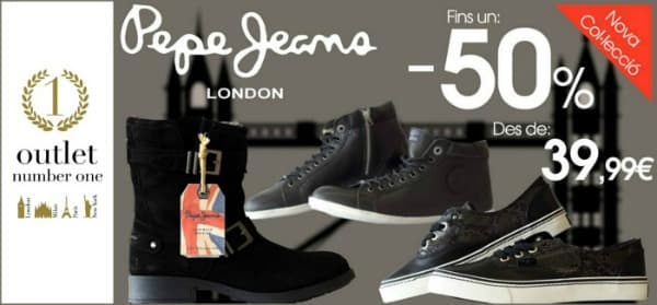 Pepe Jeans - Outlet Number One - Septiembre 2016