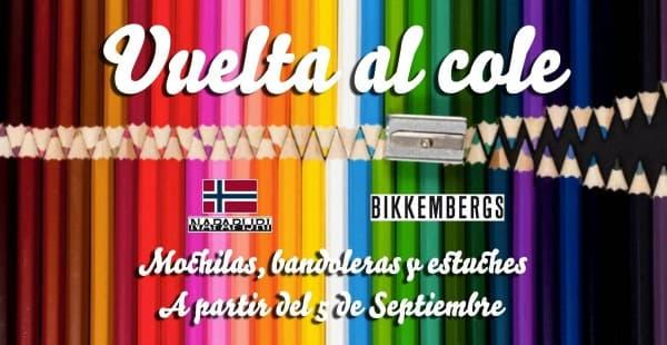 Vuelta al cole - Napapijri - Bikkembergs - Barcelona Outlet - Septiembre 2016
