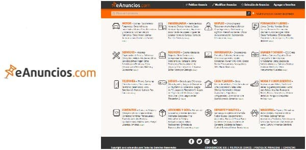 eAnuncios - Anuncios clasificados online - Septiembre 2016