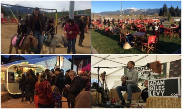 Outlet Cerdanya Diciembre 2016 - actividades música foodtrucks