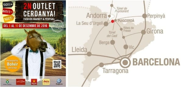 Outlet Cerdanya Diciembre 2016 - mapa situación Bolvir